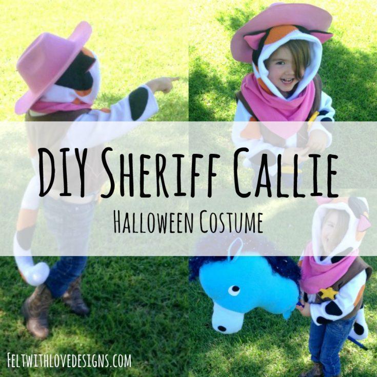 DIY Sheriff Callie Halloween Costume