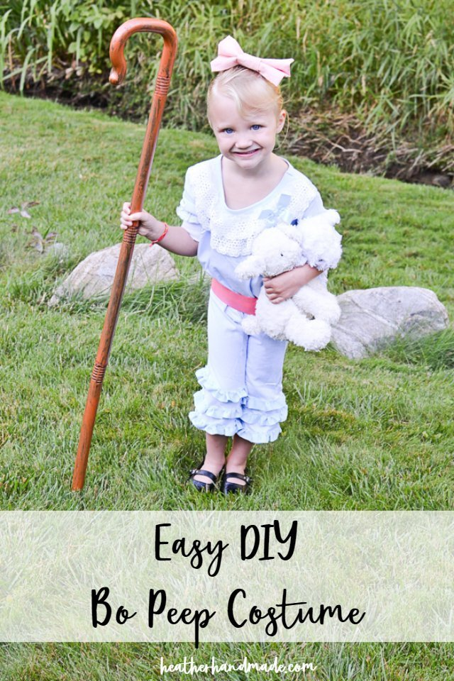 DIY Bo Peep Costume from Toy Story 4