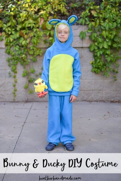 diy bunny ducky costume