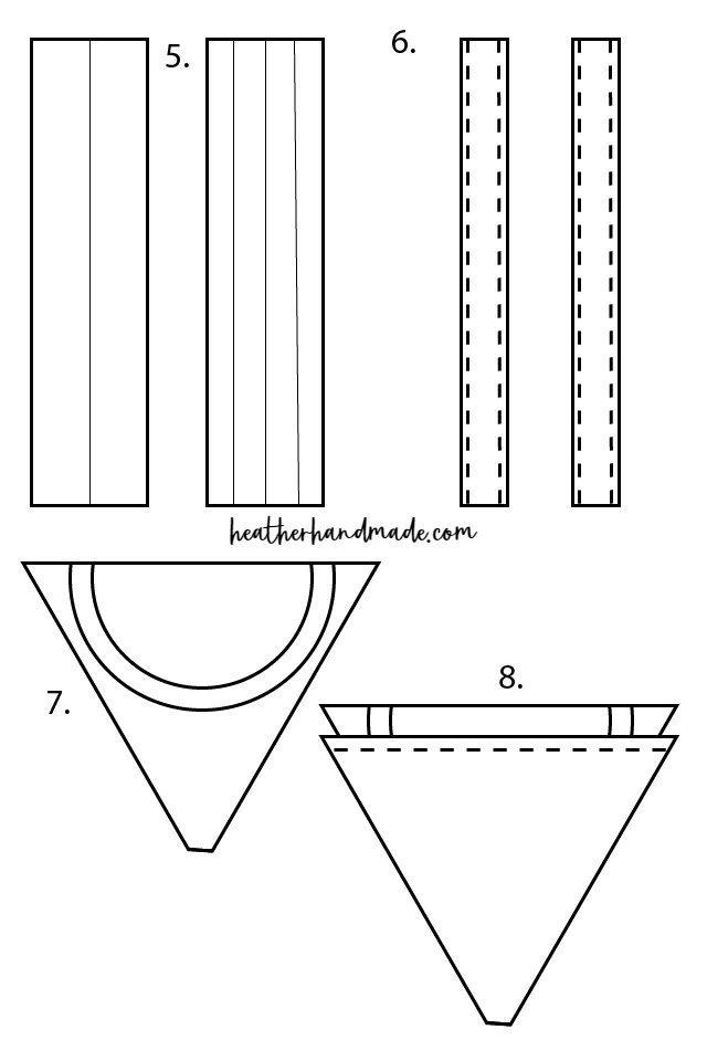 how to sew mermaid bag