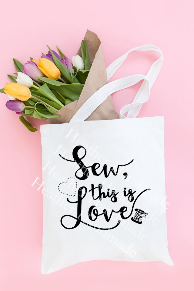 sew this is love svg