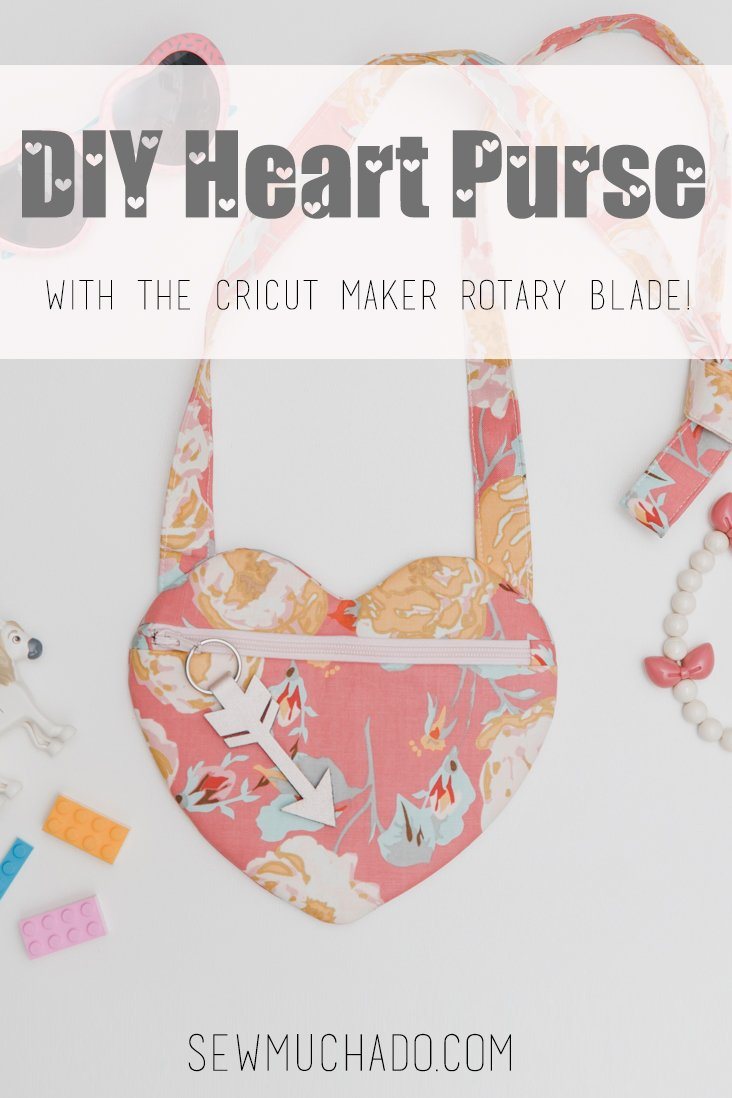 DIY Girl's Heart Purse Tutorial