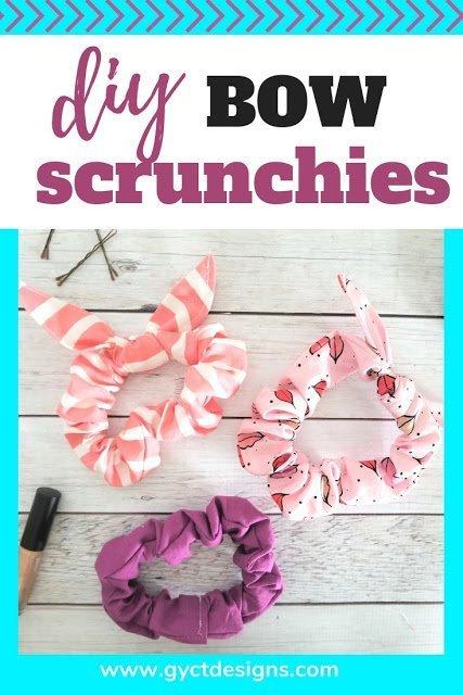 Free Bow Scrunchies Pattern