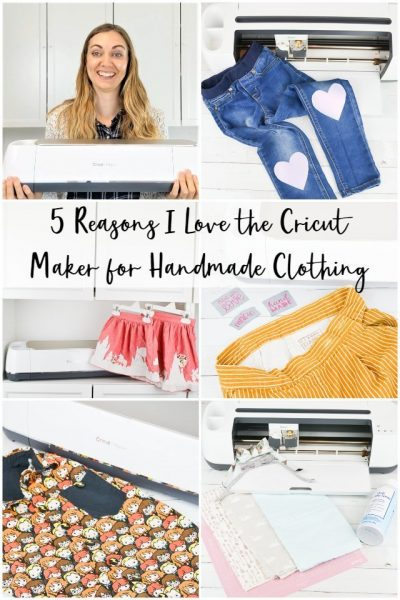 cricut maker handmade clothing