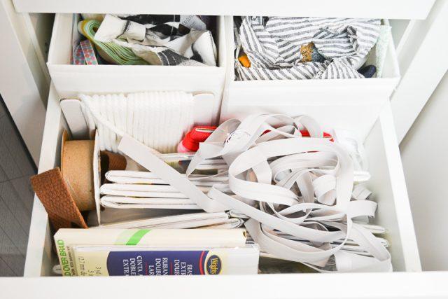 kallax ribbon storage