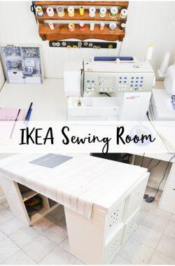 ikea sewing room