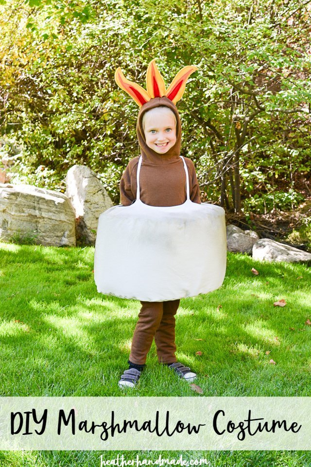 DIY Marshmallow Costume