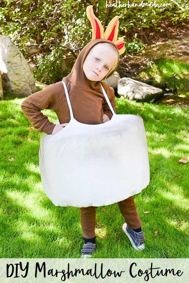 marshmallow costume diy