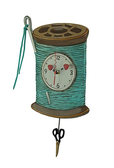 Sewing Pendulum Wall Clock