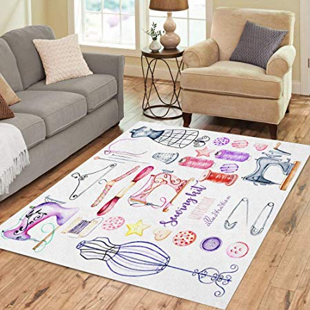 Area Rug 3' X 5' For Sewing Room