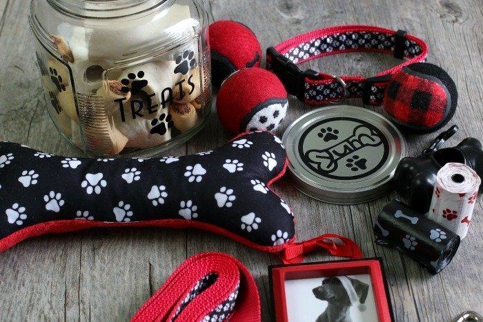 Dog Lovers Gift Basket Idea