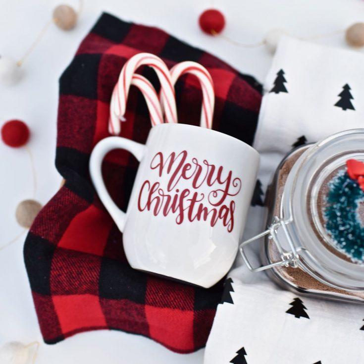 Hot Cocoa Gift Basket Idea