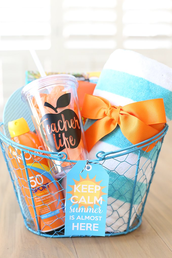 Summer Gift Basket Idea