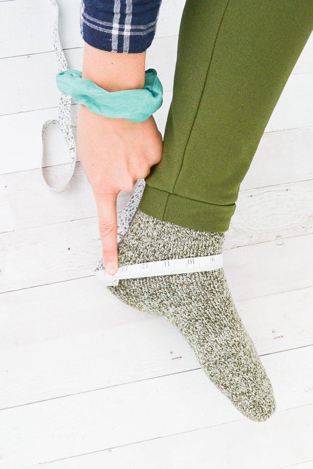 measure heel