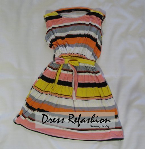 Dress Refashion For Girls