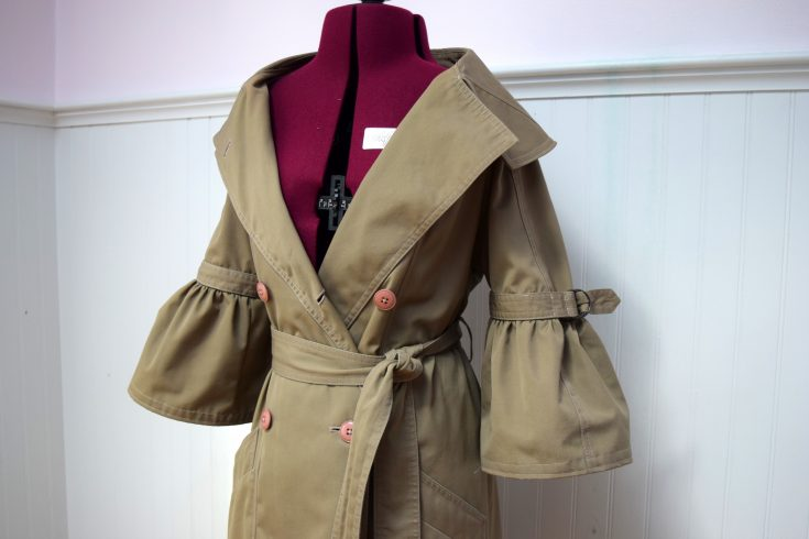 Trench Coat Refashion