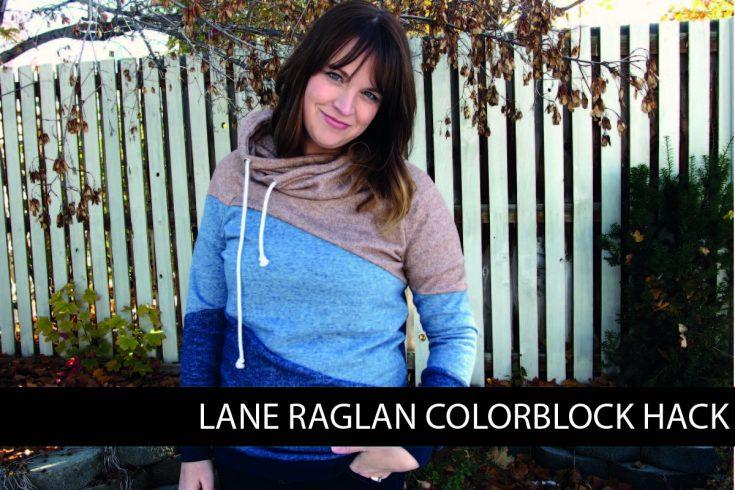 Lane Raglan Colorblock Hack