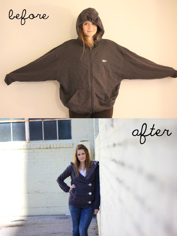 Crossover Sweatshirt Hack