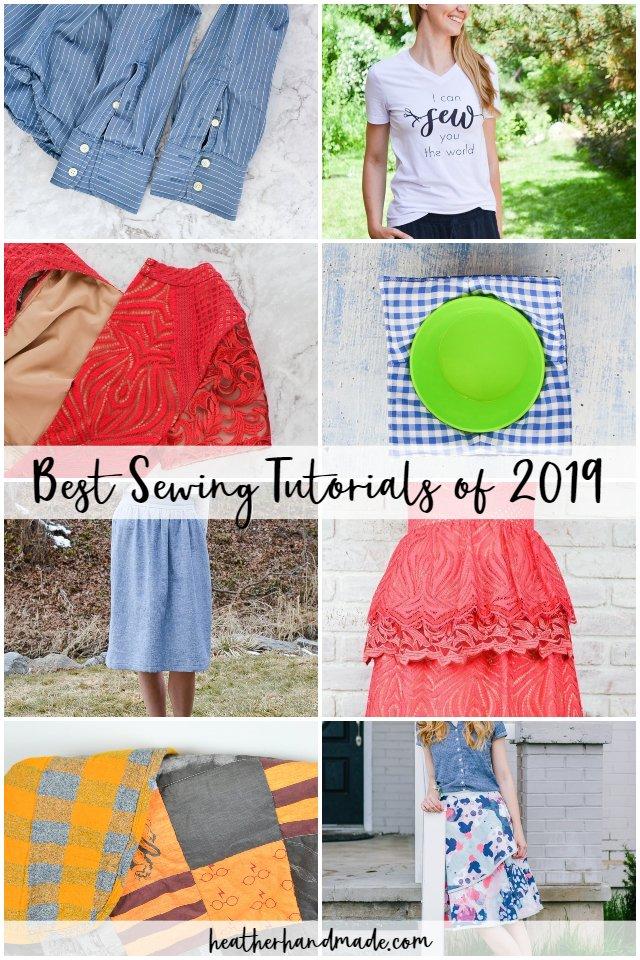best sewing tutorials of 2019
