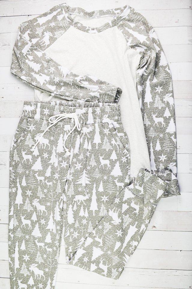 women handmade pajamas diy