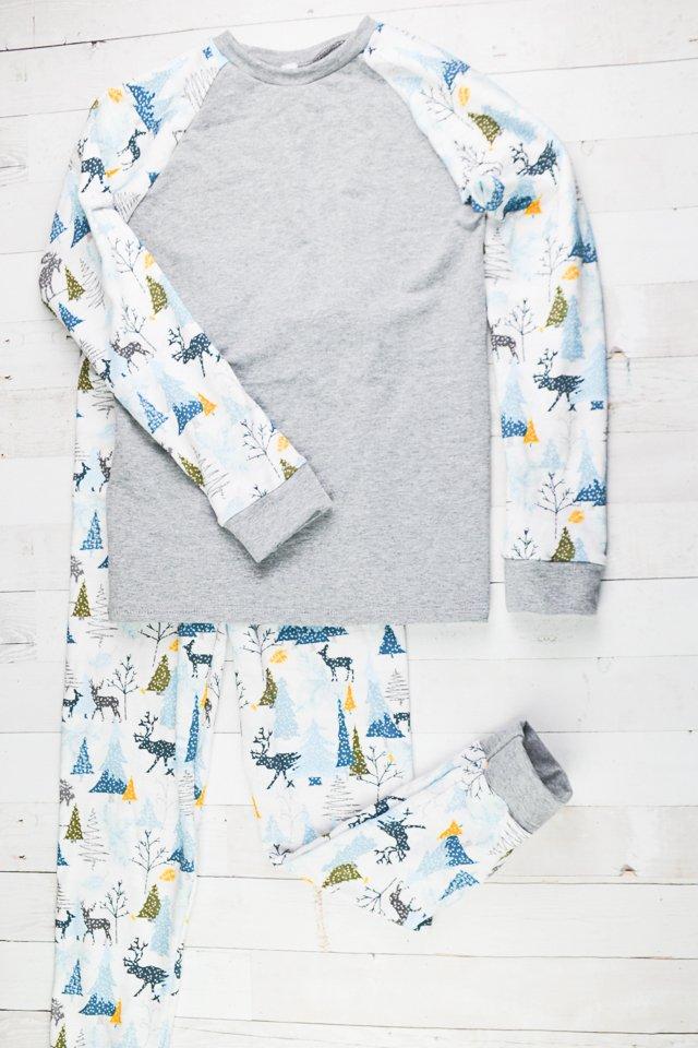 boy handmade pajamas diy