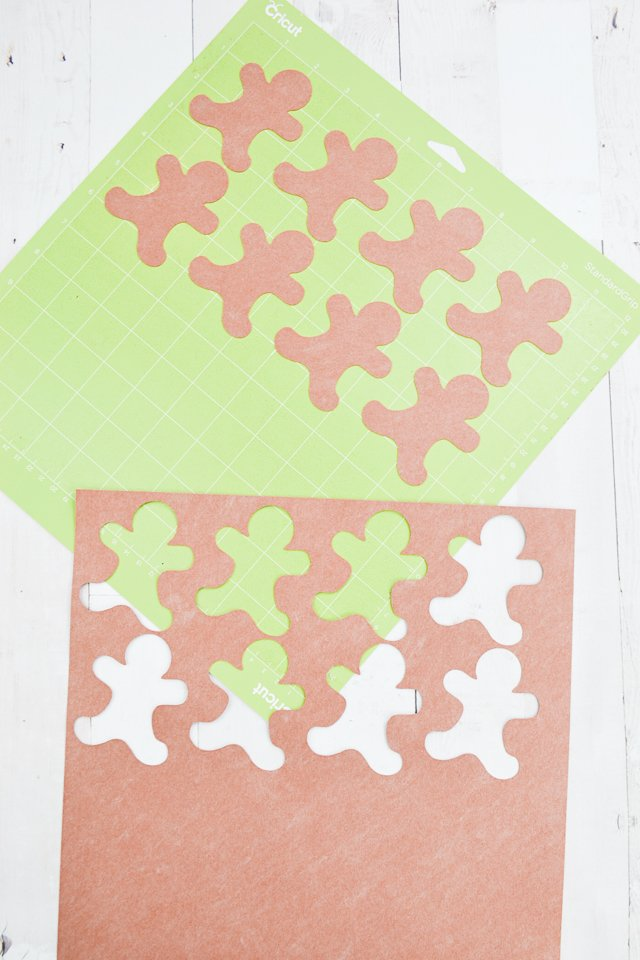 cut out gingerbread