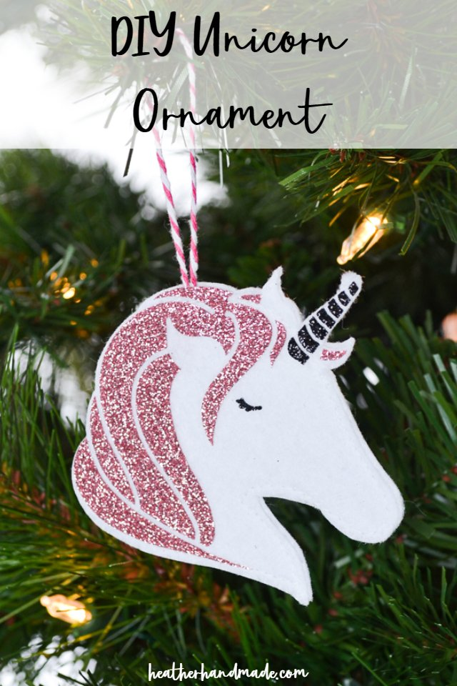 unicorn ornament diy