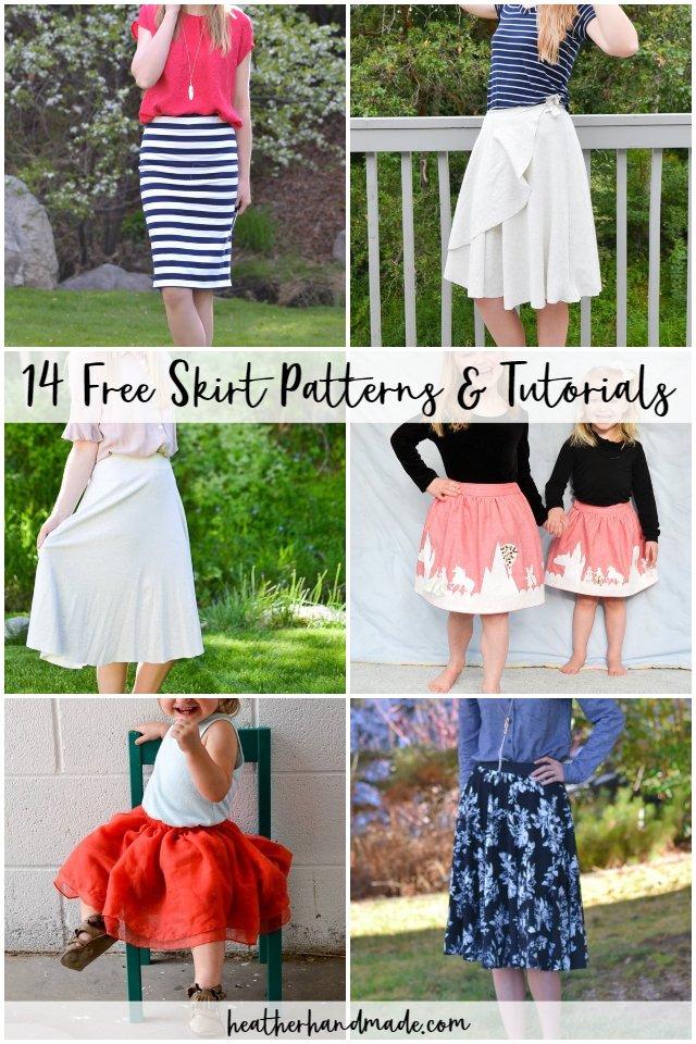 free skirt patterns
