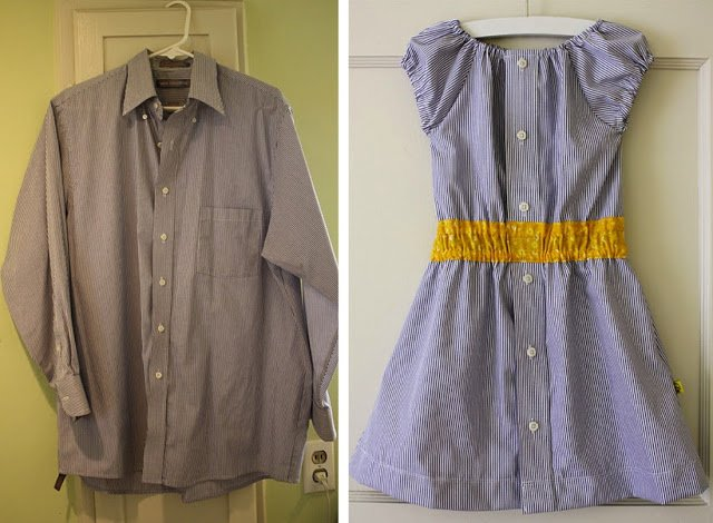 Shirt Dress Tutorial