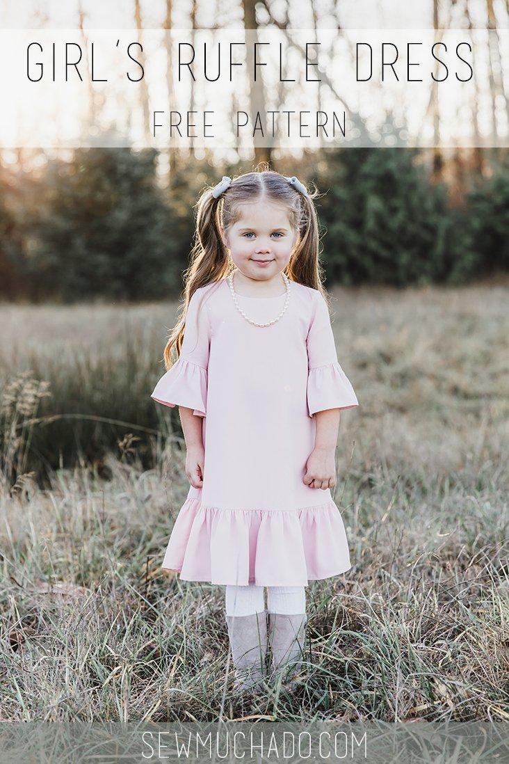 Free Girl's Ruffle Dress Pattern