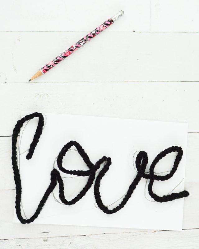 practice yarn word