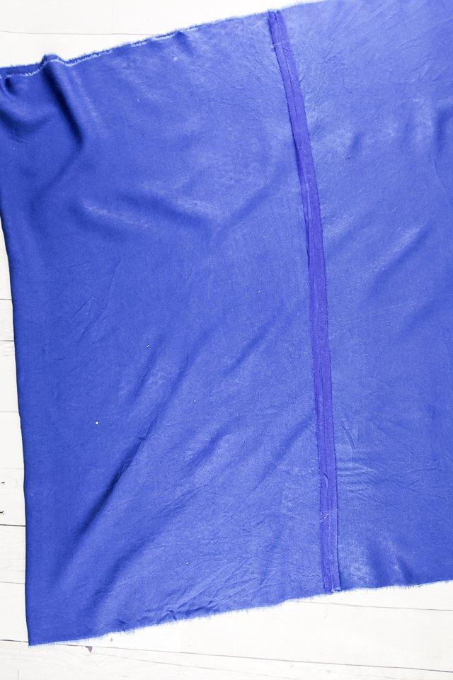 sew skirt seam