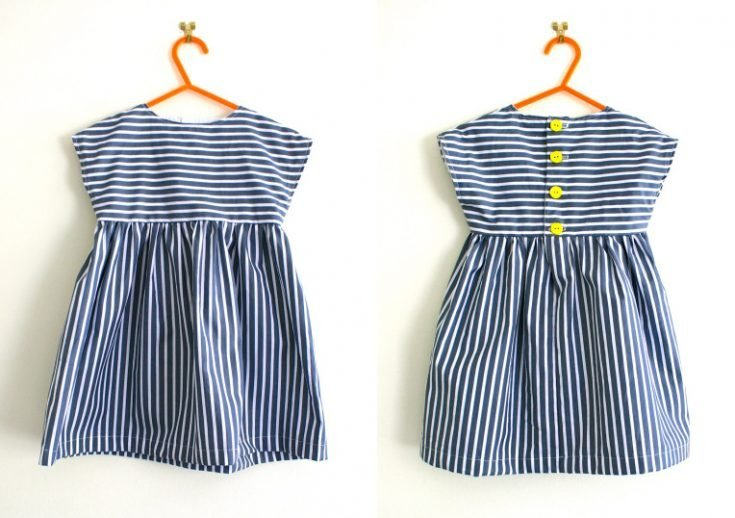 Simple tunic or dresspattern