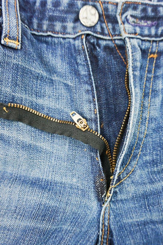 seam rip one side zipper