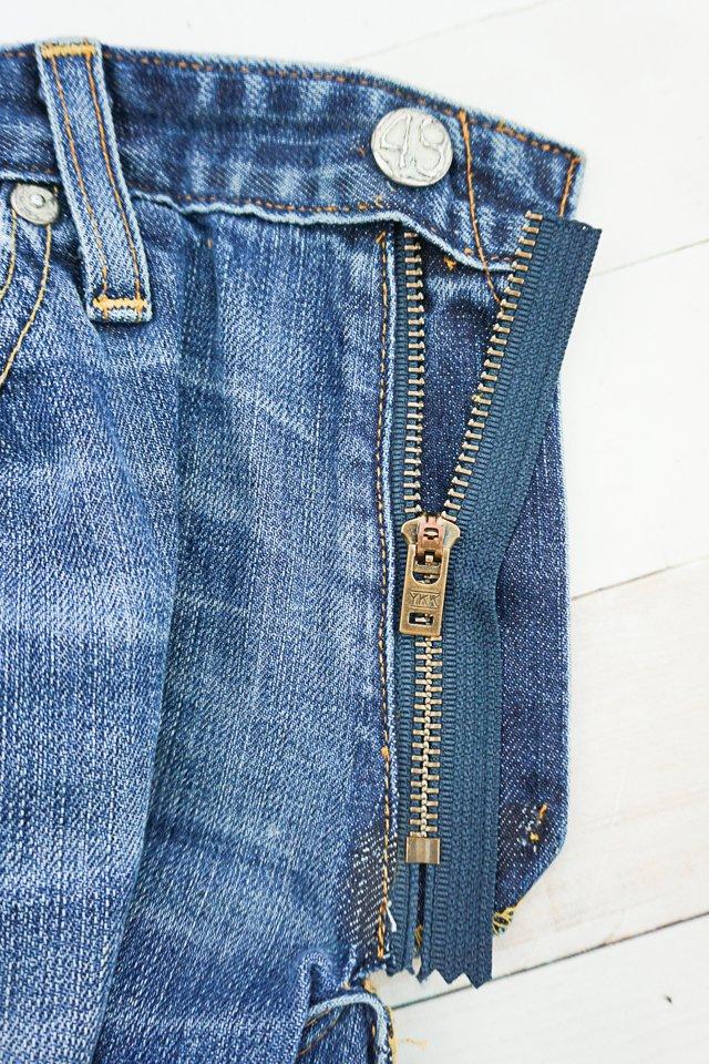 sew in zipper