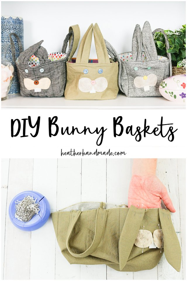 diy bunny baskets