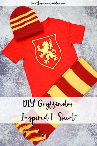 DIY Gryffindor Inspired T-Shirts