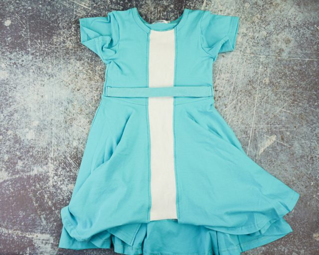 easy diy elsa dress