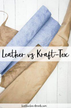 leather vs kraft-tex