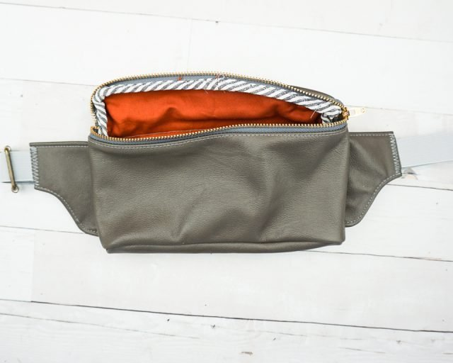 diy leather fanny pack