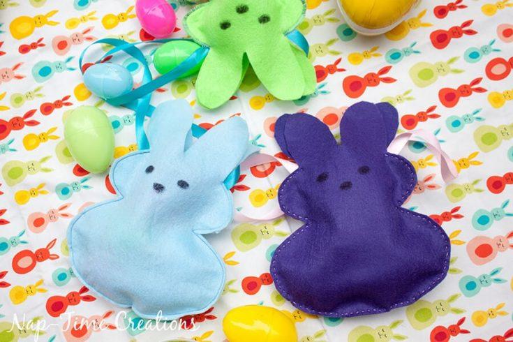 Easter Peeps Bunny Bags