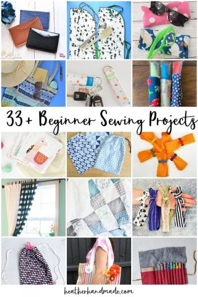 33 Fun and Easy Beginner Sewing Projects