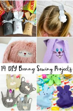 bunny sewing projects