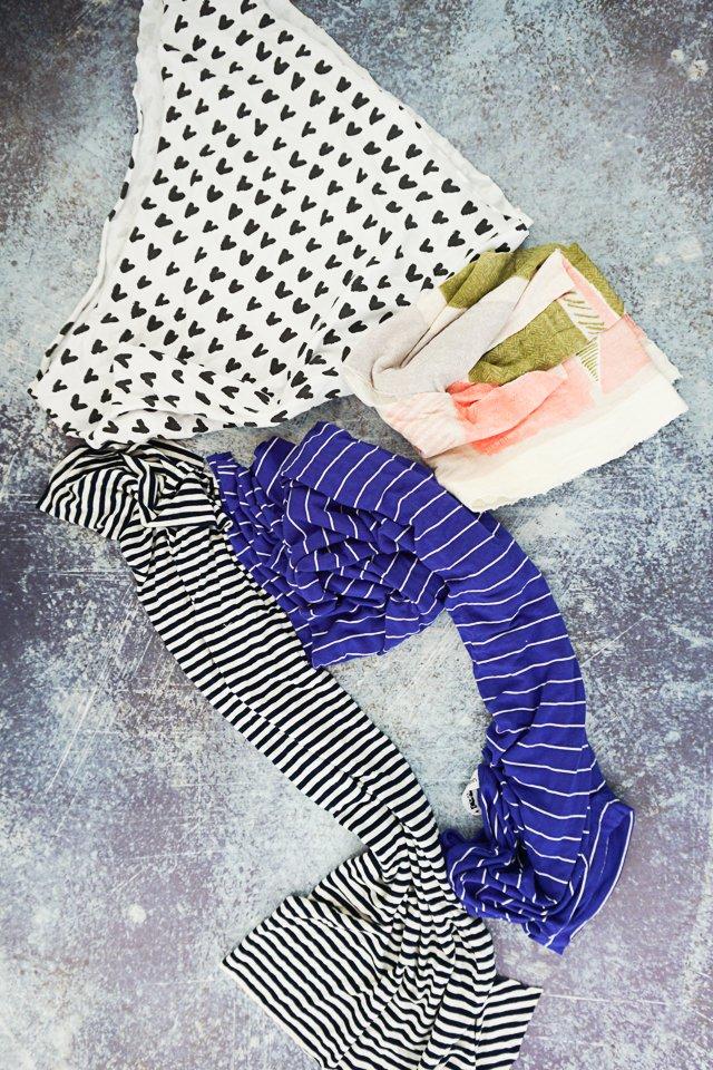 knit fabric for headbands