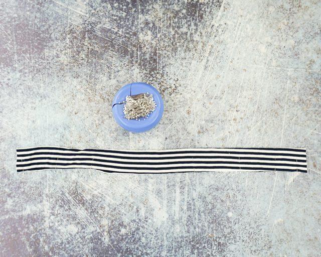 sew long end
