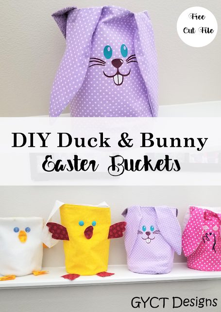 DIY Duck and Bunny Easter Basket