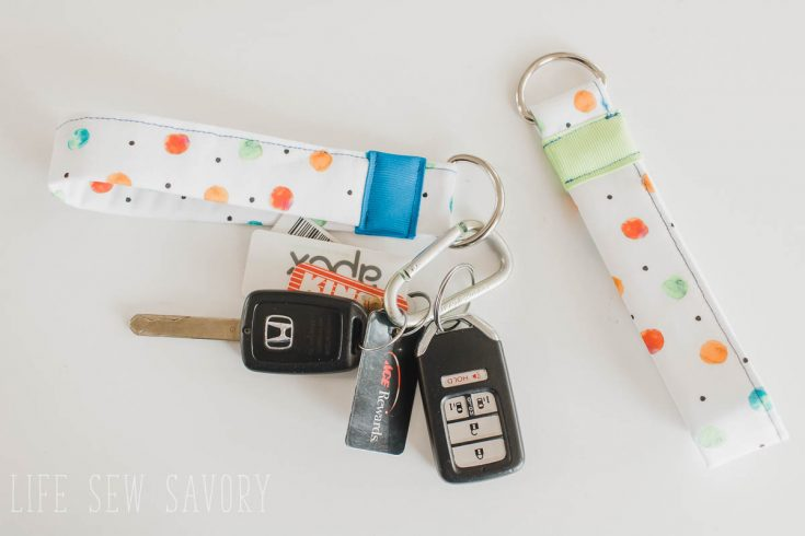 Simple Sewing Key Fob