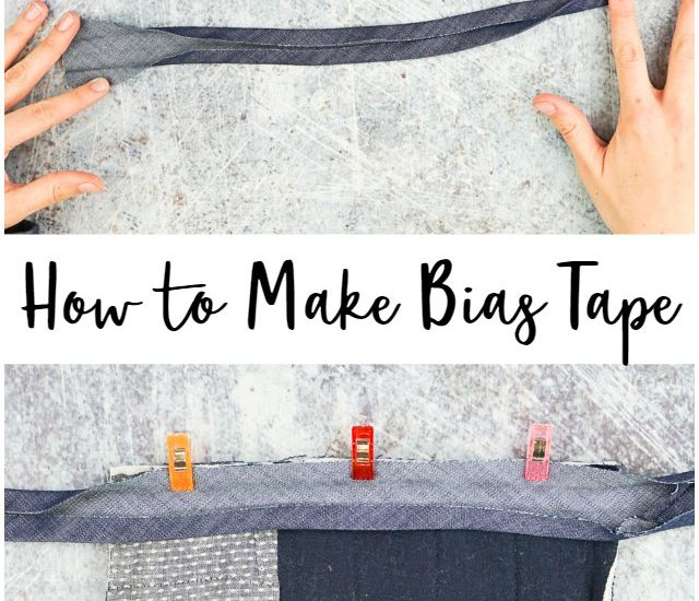 How to Make Bias Tape and Bias Binding