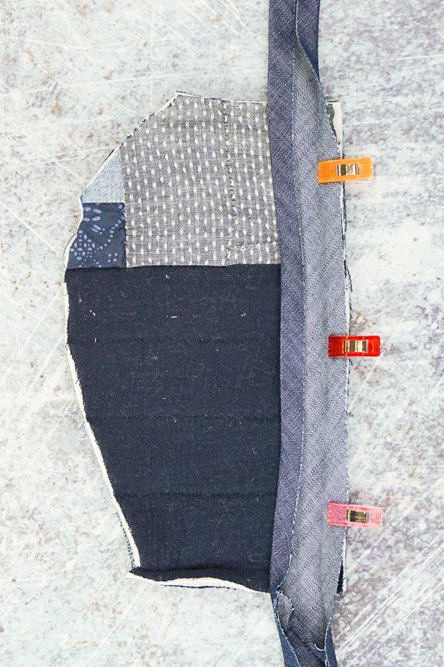 sew one side bias tape