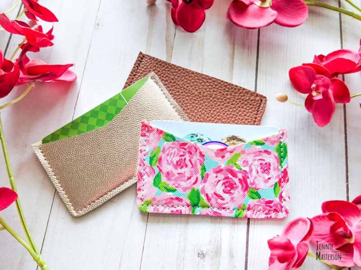 Make an Easy Card Wallet + Free Sewing Pattern